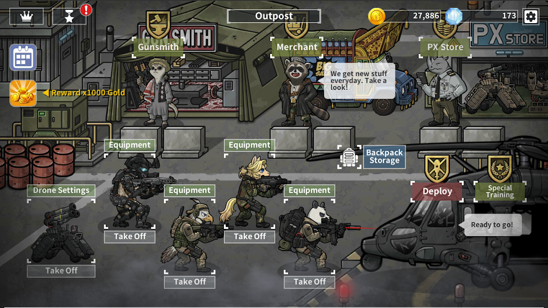 BAD 2 BAD: EXTINCTION Screenshot 01