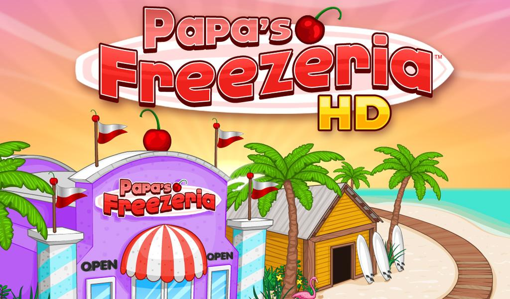 Papa's Freezeria HD v1.0.1 APK Casual Games Free Download