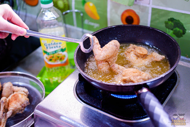 fried chicken wings recipe