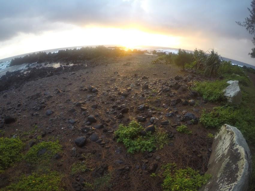 LAUPAHOEHOE BEACH PARK hawaii trek america sunrise