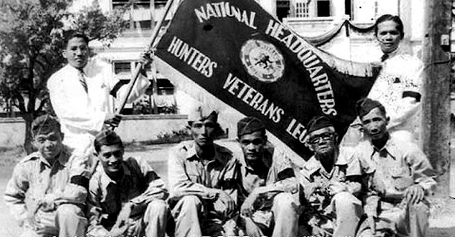 Some veterans from the Hunters/ROTC Guerrilla group. Image credit:  Expatch.org.