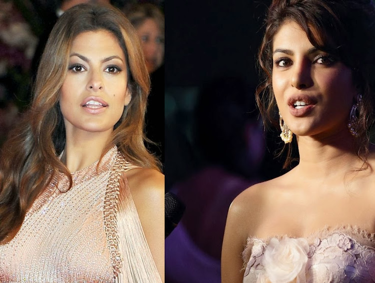 Eva Mendes and Priyanka Chopra