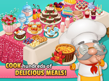 Cafeland - World Kitchen MOD Apk For Android Unlimited Money Gameplay Screenshot