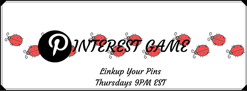 The Pinterest Game banner