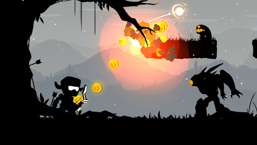 The Stickman Archer Run Mod Full