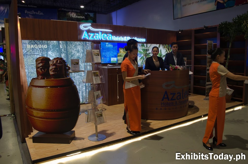 Azalea Hotels & Residences Exhibit Booth