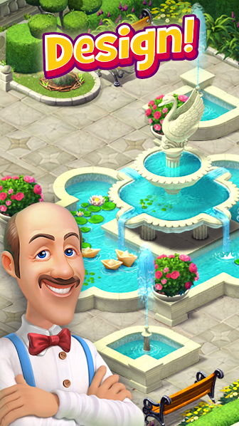 Gardenscapes Mod Unlimited Money APK