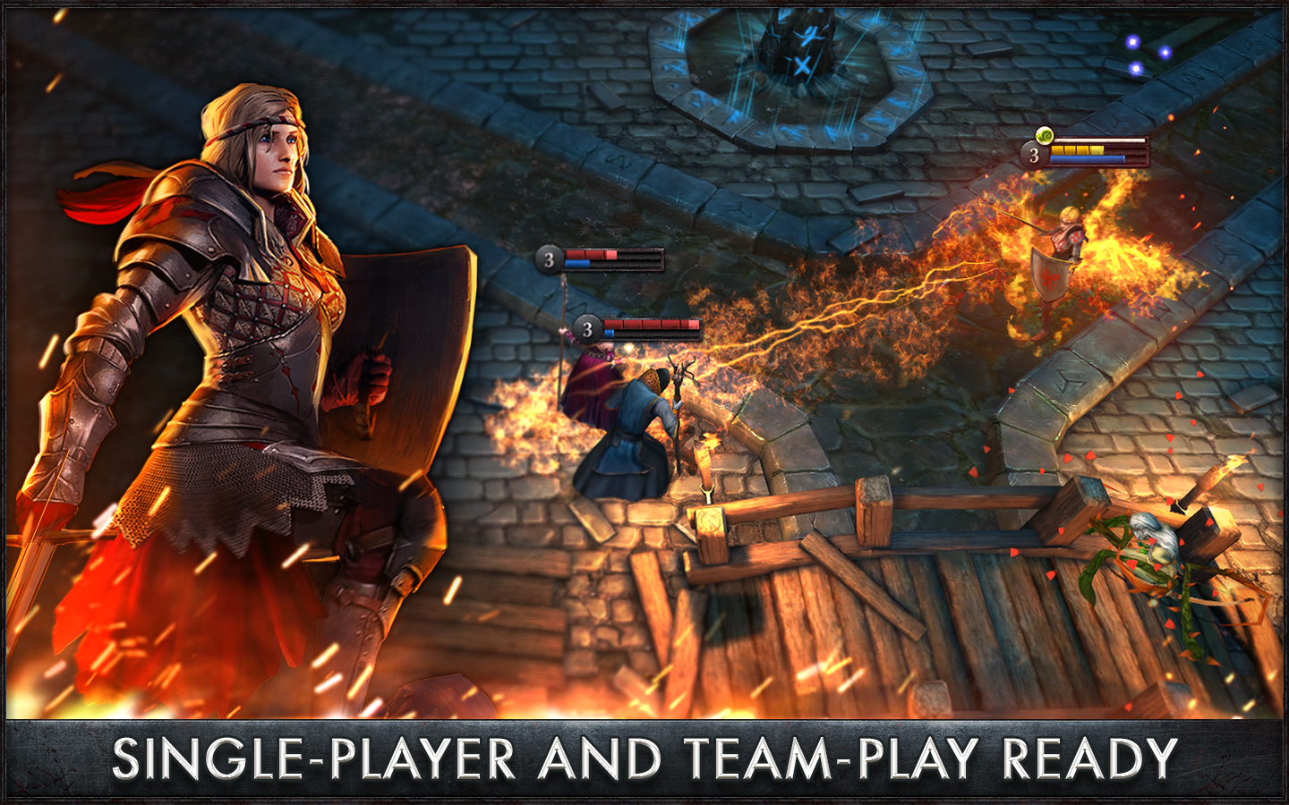 the witcher battle arena mod apk