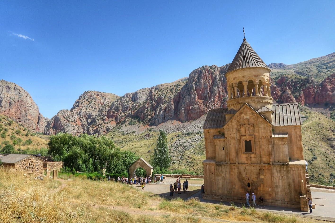 motocyklem do Armenii