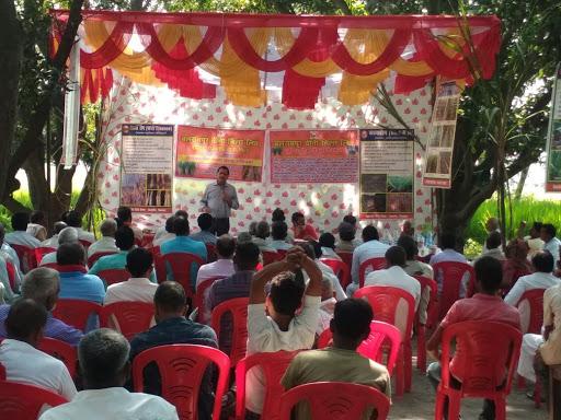 रोजा गांव चीनी मिल द्वारा बृहद किसान गोष्ठी का आयोजन