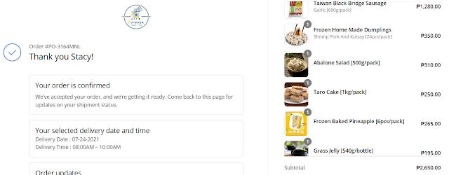 formesa food website