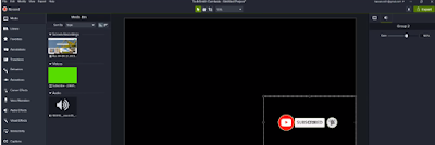 using subscribe effect library for Animated YouTube Subscribe Button in Camtasia Studio