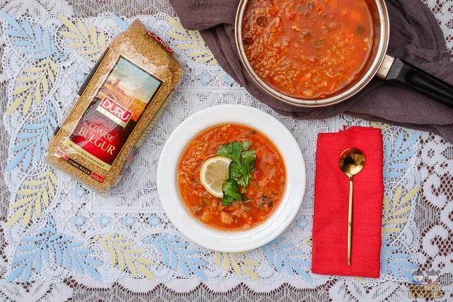 Chicken Bulgur Soup Recipe