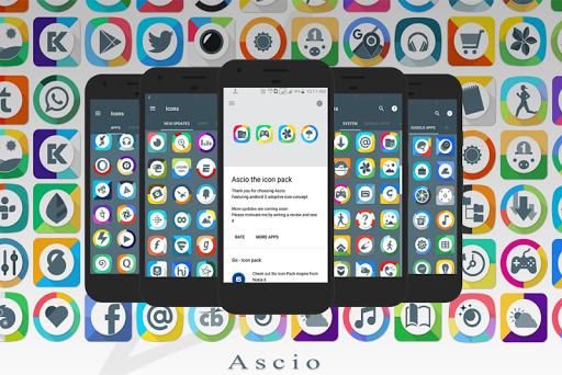 Ascio - Icon Pack
