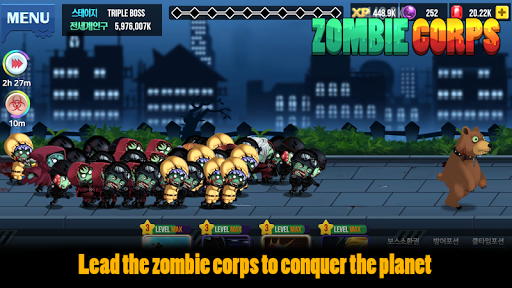 Zombie Corps Idle RPG Full Cho Android