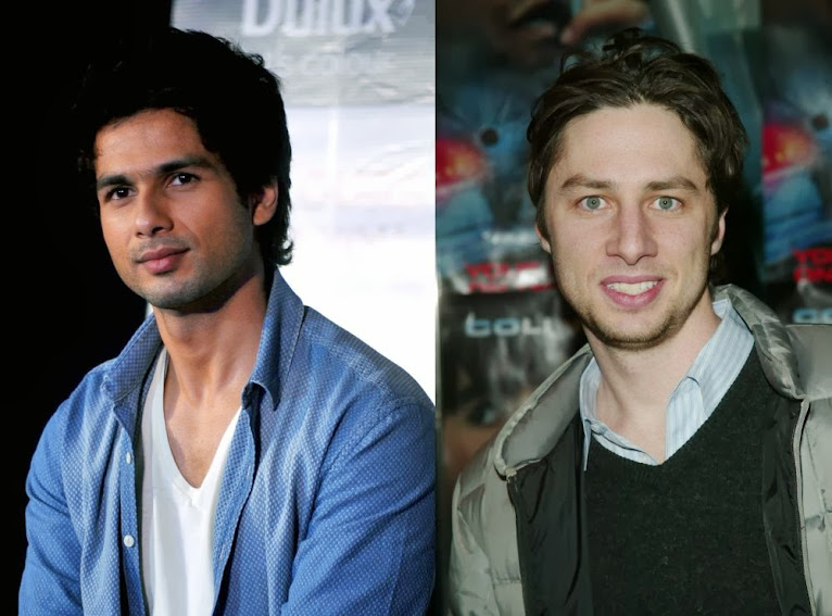 Shahid Kapoor And Zack Braff