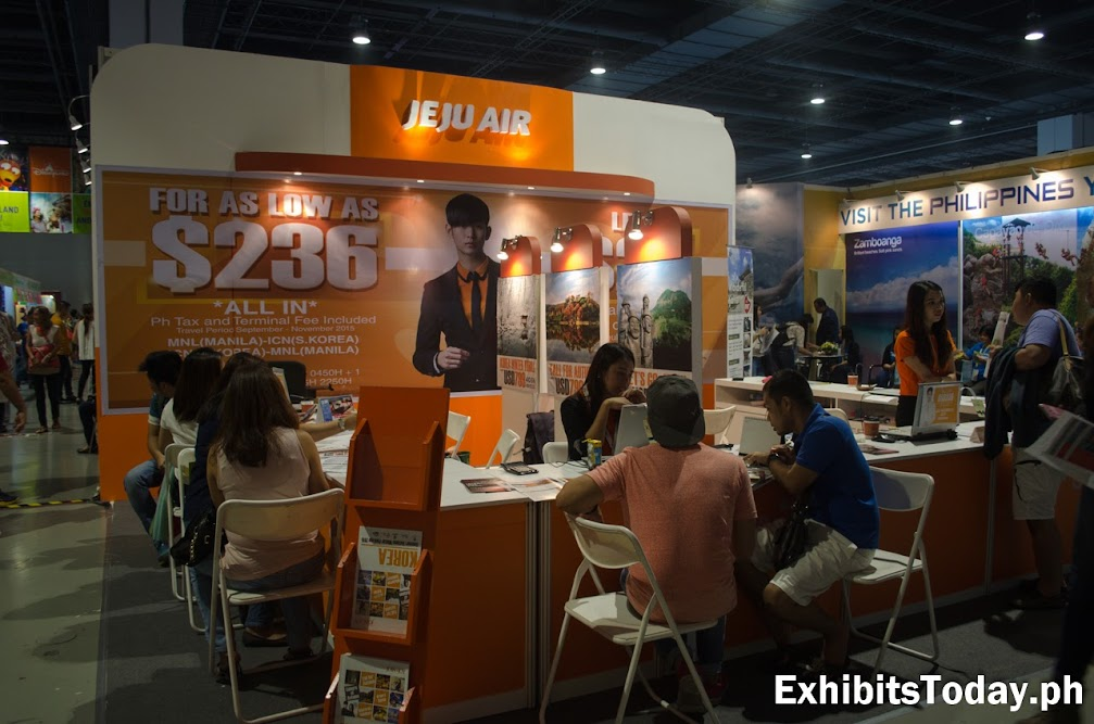 Jeju Air Exhibit Display