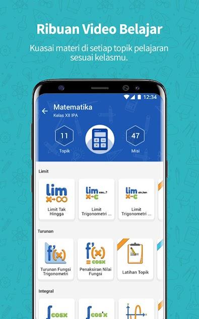 Download Aplikasi Ruangguru