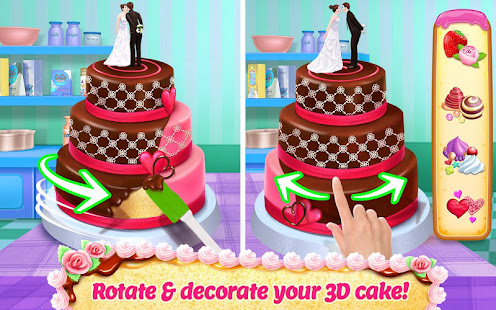 Real Cake Maker 3D Bake, Design & Decorate Mod Apk Free Shopping Everything Unlocked