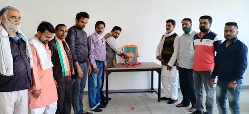 कांग्रेस कार्यालय पर मनाई गई भारत रत्न मौलाना अबुल कलाम आजाद जयंती