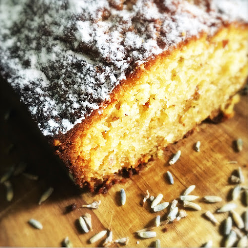 butter cake, cake, Infused, Lavender, madeira cake, pound cake, recipe, White Chocolate