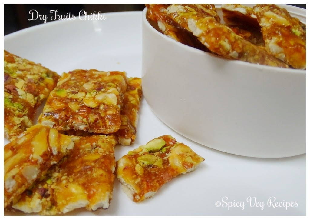 Dry Fruits chikki | How to make dry fruits Chikki| Easy Chikki Recipe