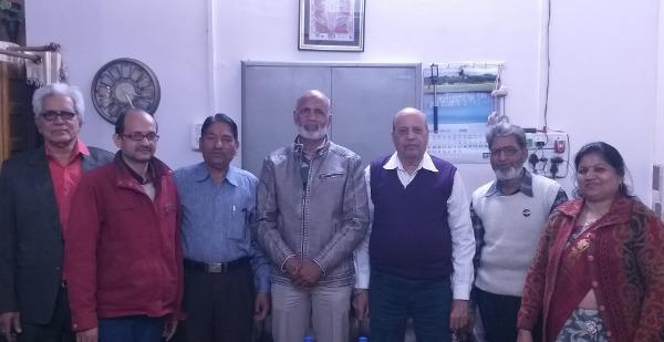 राष्ट्रीय कवि चौपाल, कोटा शाखा की मासिक गोष्ठि सम्पन्न