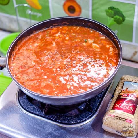 Chicken Tomato Bulgur Soup