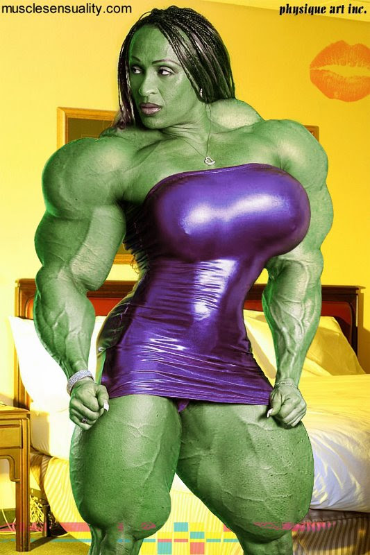 Betty Viana as She-Hulk