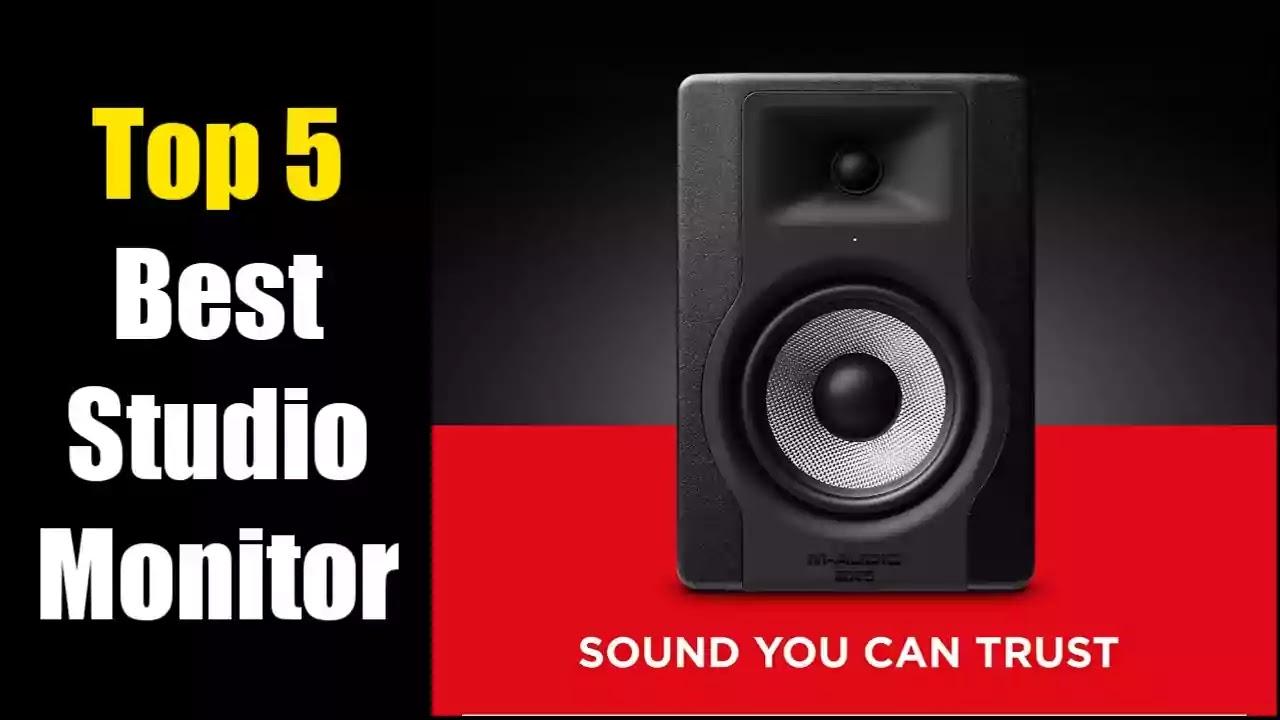 Best studio monitor speakers review