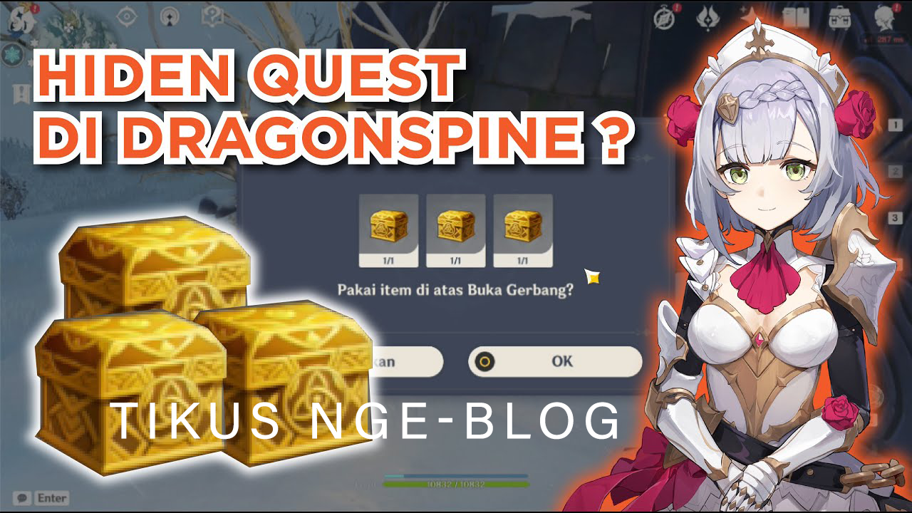 Tikus Nge-BLOG   Lokasi Kotak Emas / Hidden Quest DragonSpine