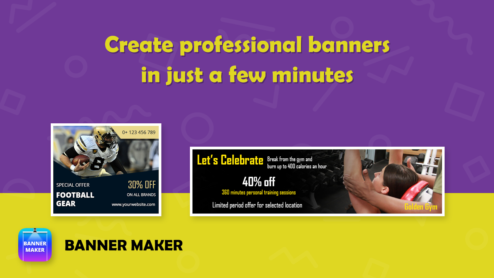 Banner Maker Web Banner Ads Roll Up Banners PRO APK