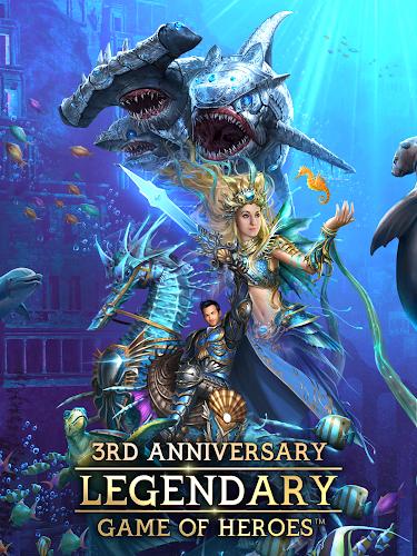 Legendary : Game of Heroes Screenshot 01