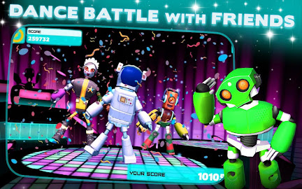 Robot Dance Party Grooves from DeNA onto Android