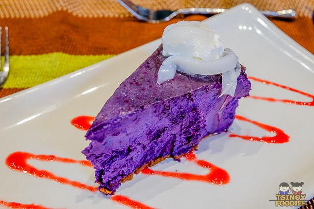 ube cheesecake