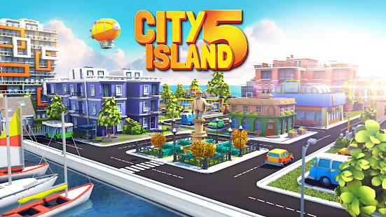 City Island 5 Tycoon Building Simulation Offline 2.1.0 Mod APK Unlimited Money Free Shopping For Android