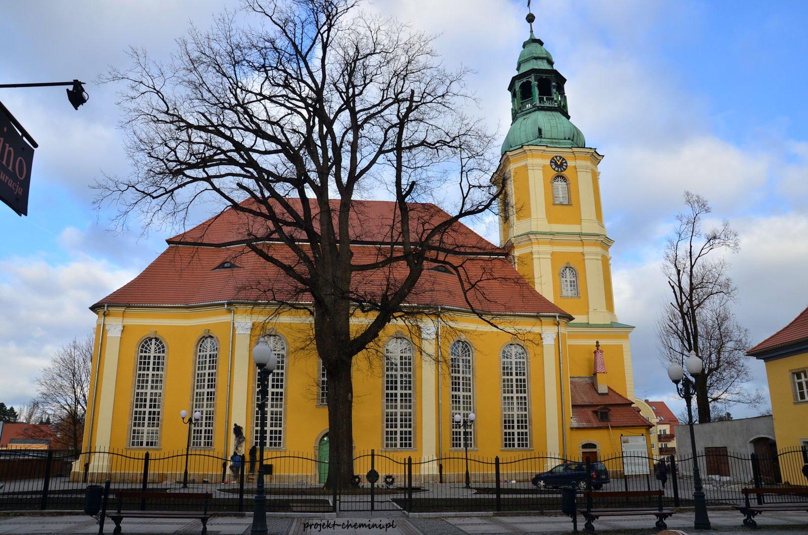 Plac Piastowski- kościół ewangelicki