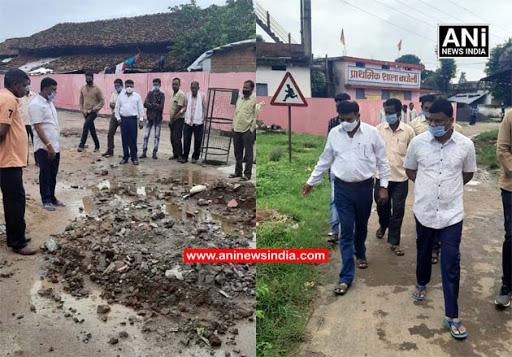 राज्य मंत्री रामकिशोर कावरे ने किया गृह ग्राम बघोली का दौरा, आदर्श ग्राम बनाने की घोषणा की
