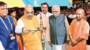 Image result for amit shah lucknow inauguration