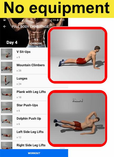 home-workouts-gym-pro-screenshot-1