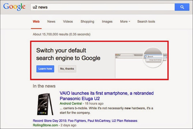 Google Begging Firefox Users To Switch Default Search Engine : eAskme