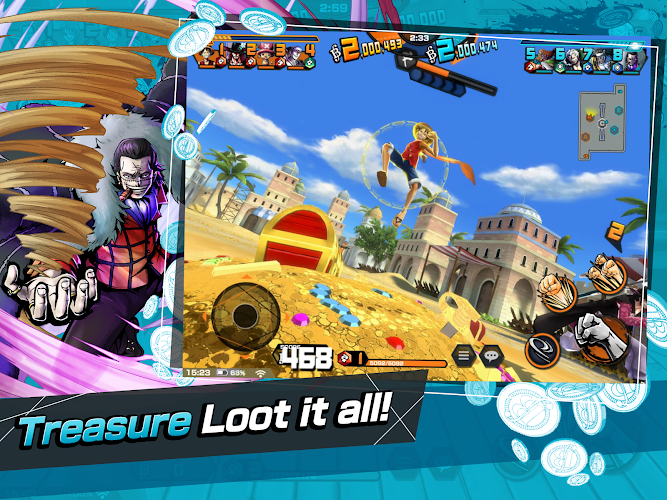 ONE PIECE Bounty Rush Screenshot 03