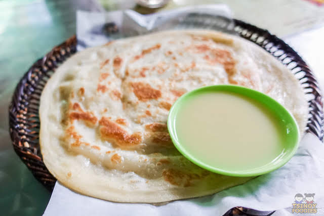 paratha sweetened milk