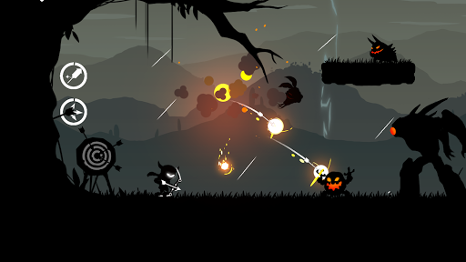 The Stickman Archer Run Mod Cho Android