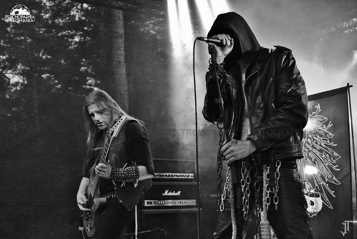 The Stone @Under The Black Sun XVIII, Helenenauer, Allemagne 03/07/2015