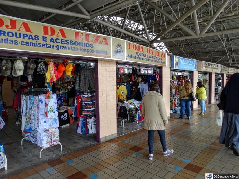 Lojas dentro do Centro de Apoio ao Romeiro do Santuário - o que fazer em Aparecida - São Paulo