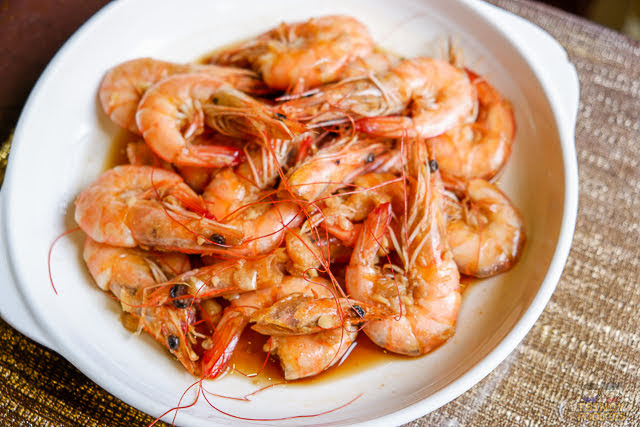 soy garlic shrimp