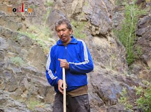 A villager at Dah