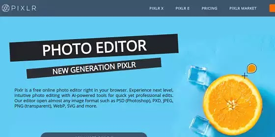 pixlr editor photo online for blogger