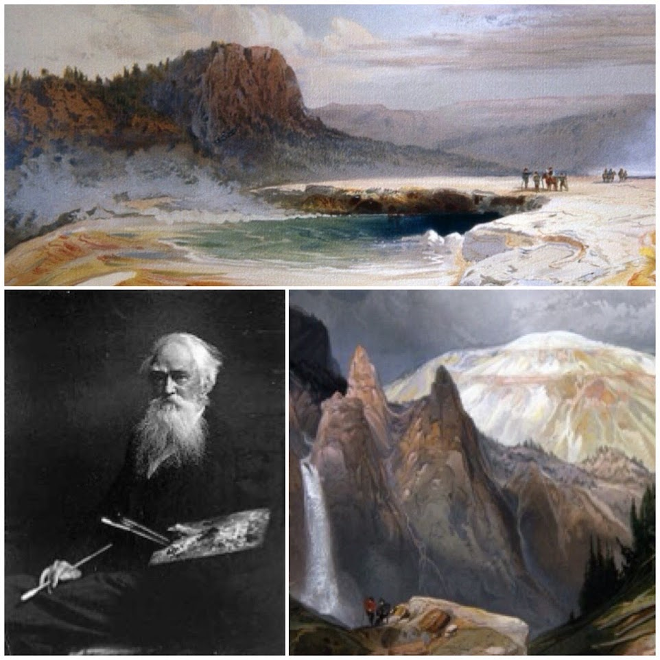Happy birthday to Yellowstone artist Thomas Moran